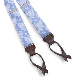Paisley Silk Suspenders