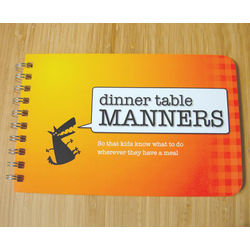 Dinner Table Manners Book