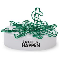 Make It Happen Magnetic Paper Clip Sculpture