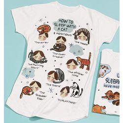 How to Sleep with a Cat Sleepshirt