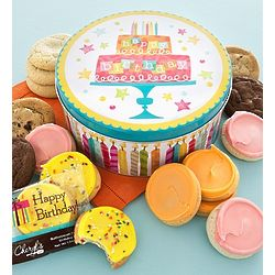 Musical Birthday Cake Create Your Own Cookie Gift Tin