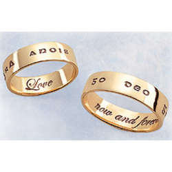 Love Now and Forever 14K Gold Ring