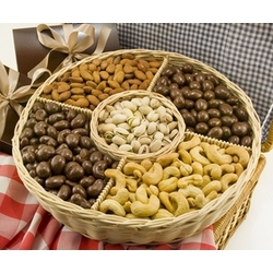 Sweet Celebration Nut Basket