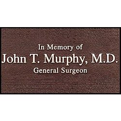 Bronze Personalized Plaque