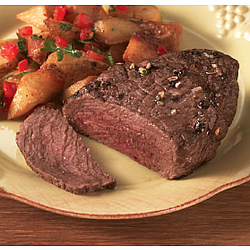 Buffalo Filets 4 - 6 Oz. Sirloins