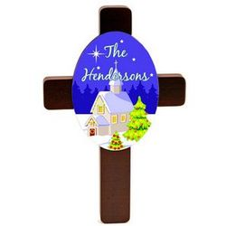 Family Keepsake Christmas Cross