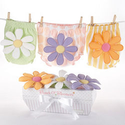 Baby Bloomers with Flowers