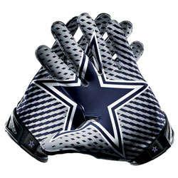 Dallas Cowboys Nike Vapor Jet Gloves