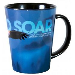 Dare to Soar Ceramic Latte Mug