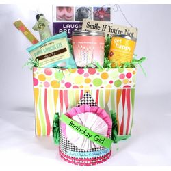 Gorgeous Birthday Girl Basket