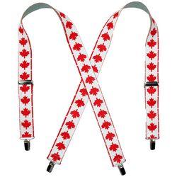 Canadian Flag Suspenders