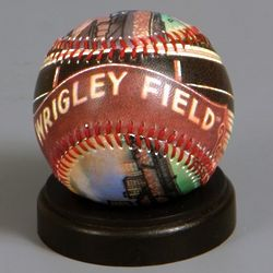 Wrigley Field Stadium Baseball with Stand