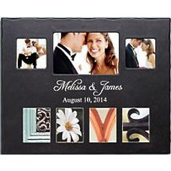 Colorful Architectural Love Personalized Photo Frame