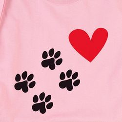 Pawprints to My Heart T-Shirt