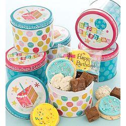 Birthday Cookie Mini Gift Tins