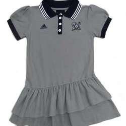 Girl's Milwaukee Brewers Polo Dress