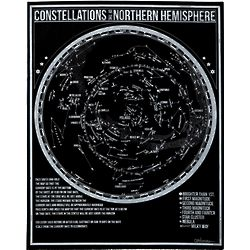 Glow in the Dark Constellation Poster