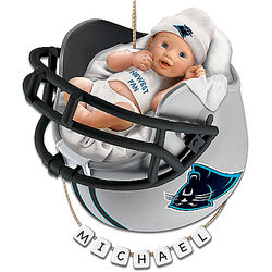 Carolina Panthers Baby's First Christmas Ornament