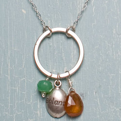 Balance Charm Necklace