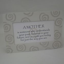 Personalized A Mother Wooden Wall Plaque