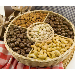 Sweet Celebration 3 Pound Nut Gift Basket