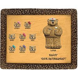 Personalized Retirement Plaque for Nurse