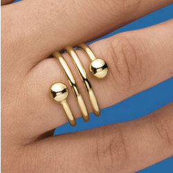 Spiral Weight Loss Ring