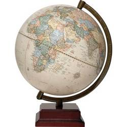 Captain World Globe in Antique Finish