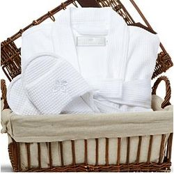 Spa Apparel Gift Basket