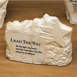 Lead the Way Stone Paperweight