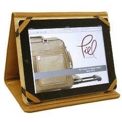 Leather iPad Envelope Case Saddle
