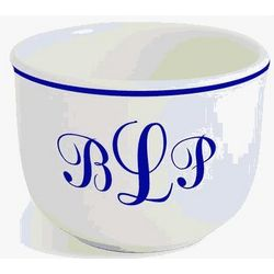Personalized Monogram Ice Cream Bowl