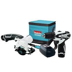 12 Volt Cordless Drill and Circular Saw Kit