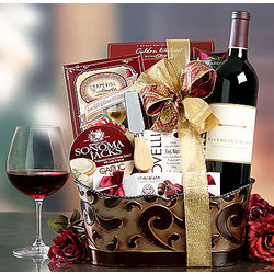 Mendocino Farms Red Wine Assortment Gift Basket