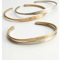 Artisan Languages of Love Bracelet