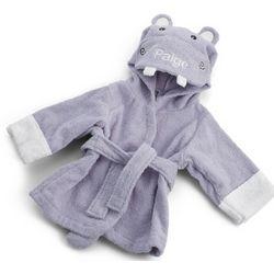 Hooded Hippo Bath Robe