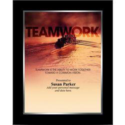 Teamwork Rowers Infinity Award Plaque