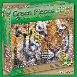 Tiger in Your Tank Wildflower Seed Jigsaw Puzzle