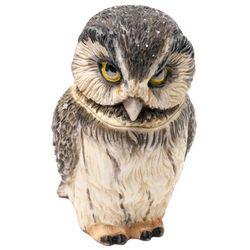 Boreal Owl Pot Bellys Trinket Box