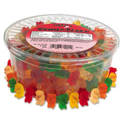 Gummy Bears Assorted Flavors Tub