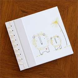 Baby's Yellow Lion First Memory Book
