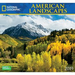 National Geographic American Landscapes 2019 Calendar