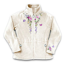 Lena Liu Garden's Perfection Women's Fleece Jacket