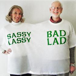 Sassy Lassy and Bad Lad Double T-Shirt