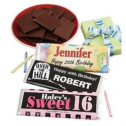 Personalized Birthday Candy Wrappers