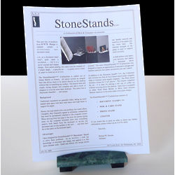 Green Marble Document Stand