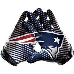 New England Patriots Nike Vapor Jet Gloves