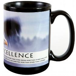 Excellence Eagle Ceramic Mug