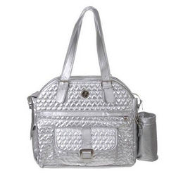Whak Sak Silver Hearts Ultimate Tennis Tote
