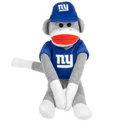 New York Giants Uniform Sock Monkey